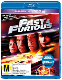 Fast And Furious on Blu-ray