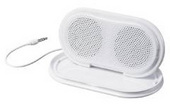 Sony Portable Speakers SRSTP1W Featuring a  compact design with built-in speaker stand
