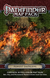 Pathfinder RPG: Forest Dangers Map Pack