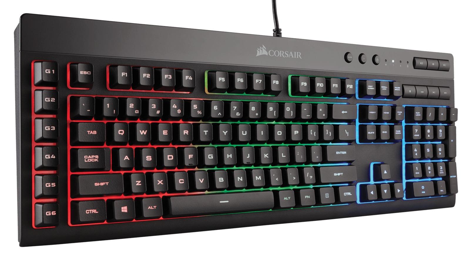 Corsair K55 RGB Gaming Keyboard for PC Games image