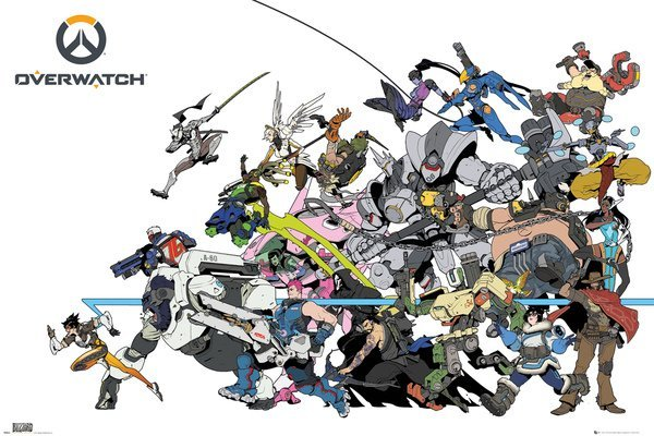 Overwatch Maxi Poster - Battle (648)