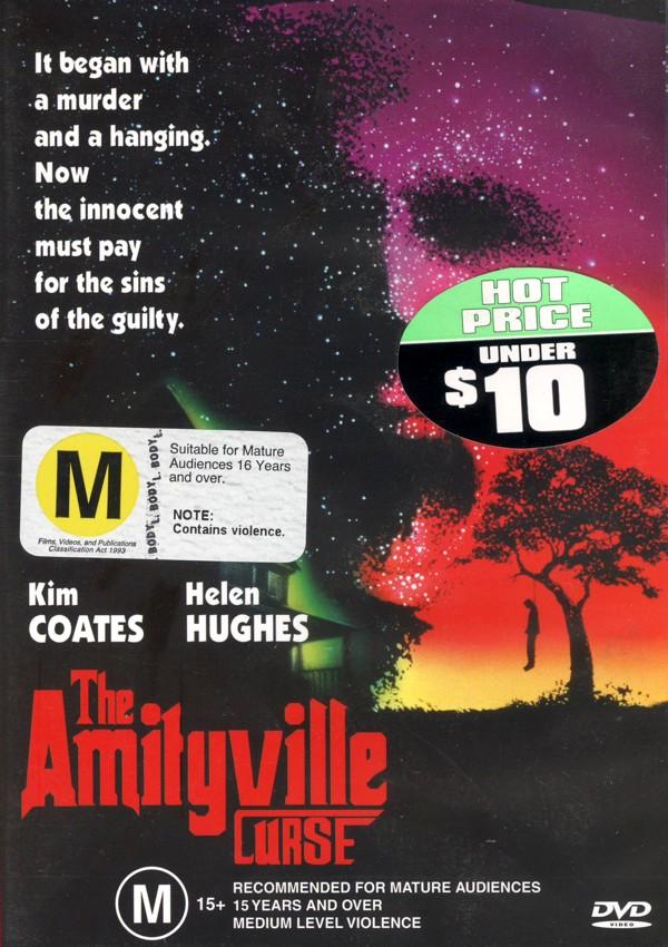 The Amityville Curse on DVD image