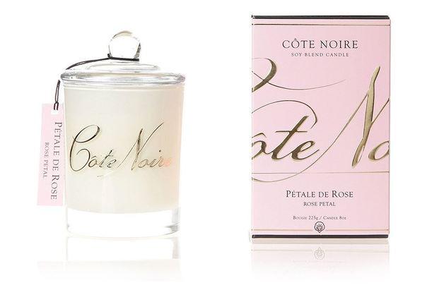 Côte Noire Soy Blend Candle - Pétale de Rose (Rose Petal)