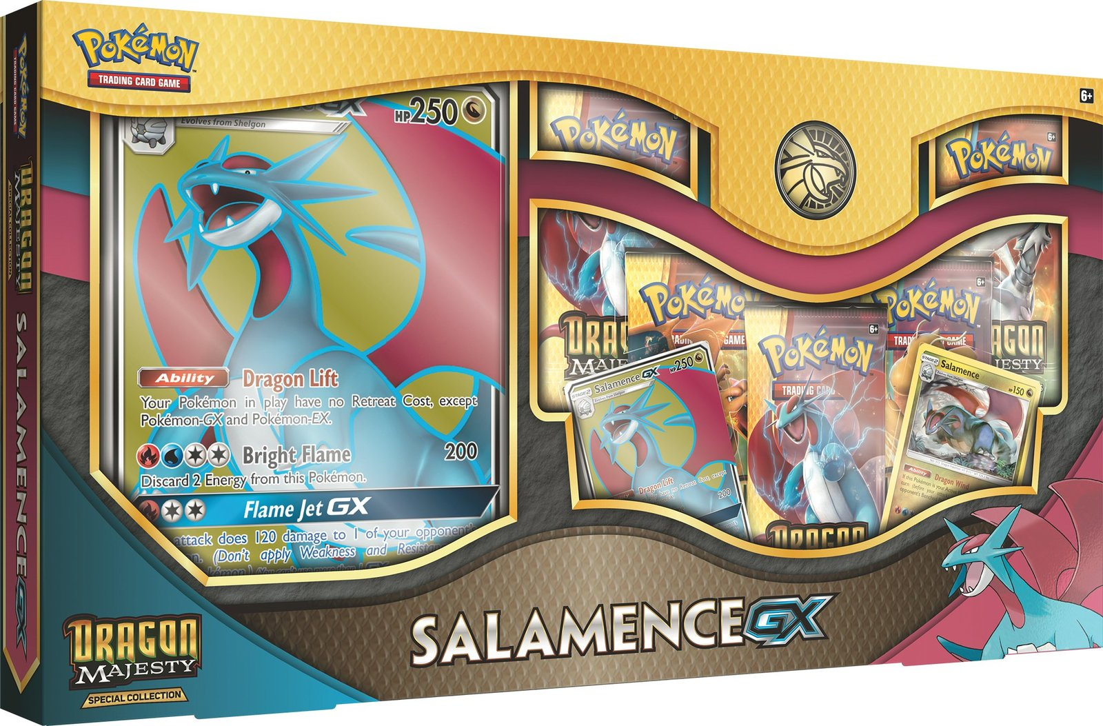 Pokemon TCG: Dragon Majesty Special Collection - Salamence-GX image