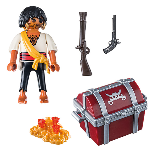 Playmobil: Special Plus - Pirate with Treasure Chest (9358)