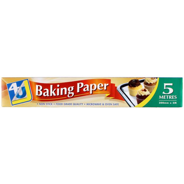 4U Baking Paper 5 Metres