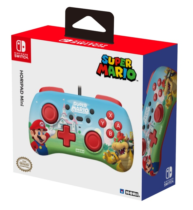 Switch Wired HORIPAD (Super Mario) by Hori for Switch