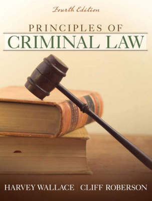 Principles of Criminal Law by Harvey Wallace image