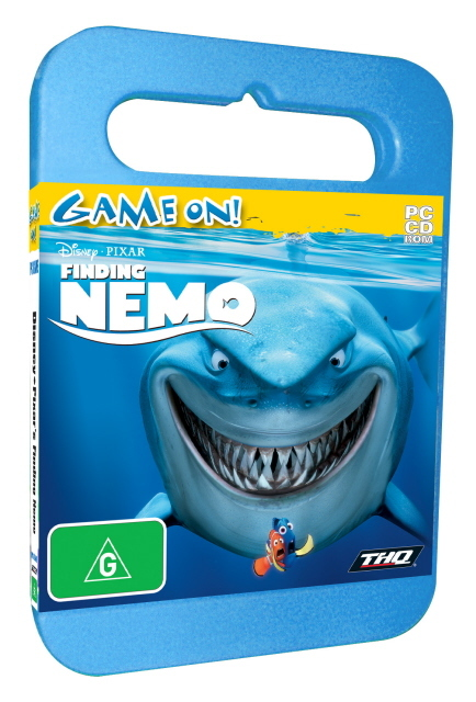 Finding Nemo Adventure - Toy Case for PC Games