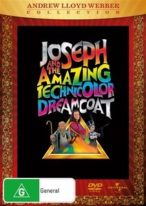 Joseph And The Amazing Technicolour Dreamcoat on DVD