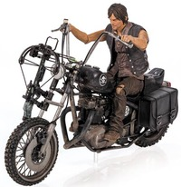 The Walking Dead: Daryl Dixon Figure with Chopper Motorcycle - Deluxe Box Set