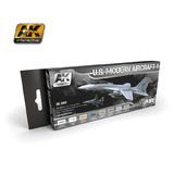 AK US Modern Aircraft Paint Set