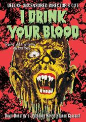 I Drink Your Blood on DVD