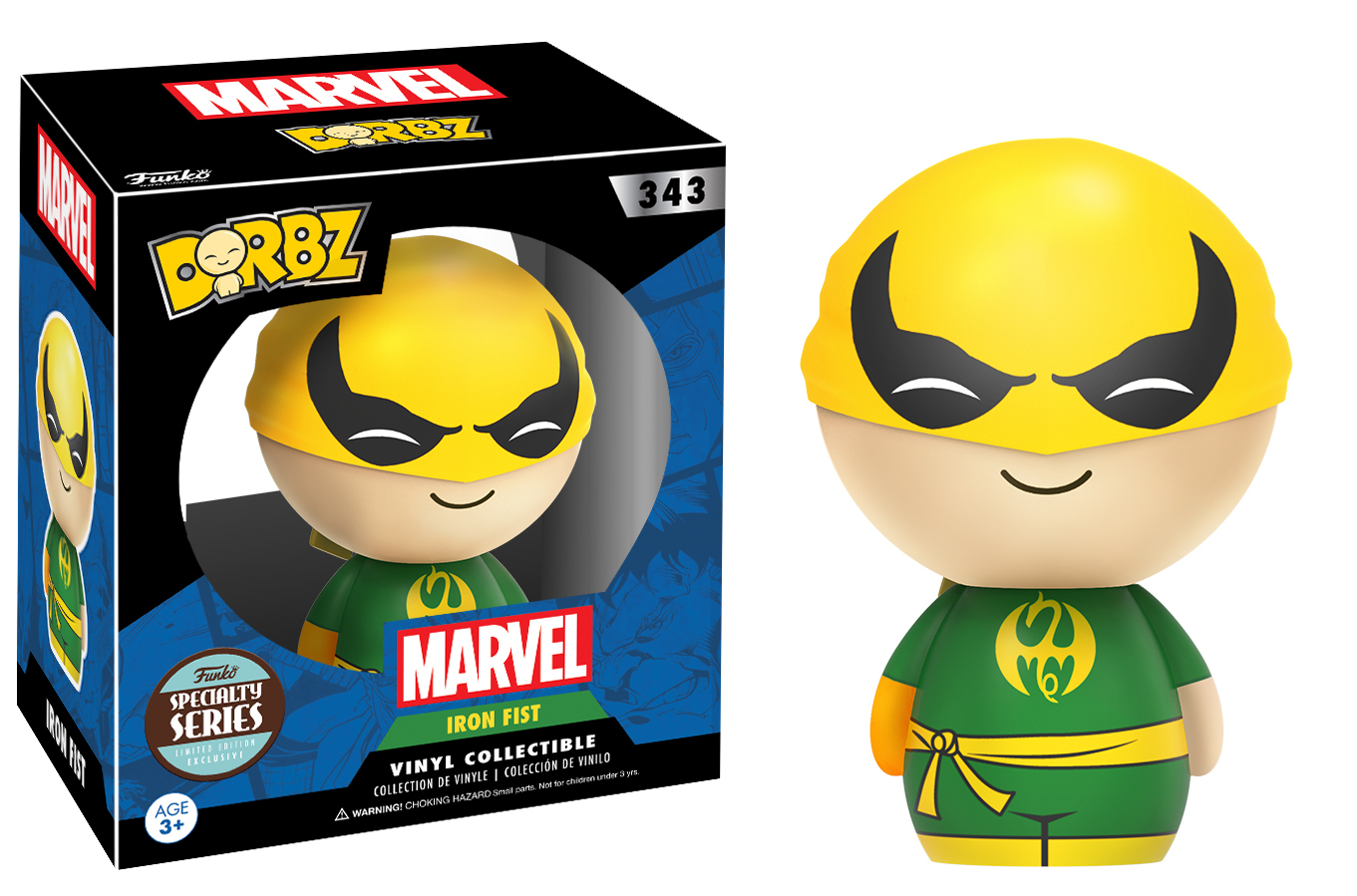 Marvel: Iron Fist Dorbz Vinyl Figure image