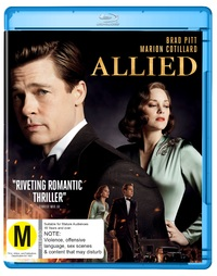 Allied on Blu-ray