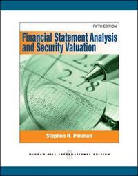 Financial Statement Analysis and Security Valuation (Int'l Ed) by Stephen Penman