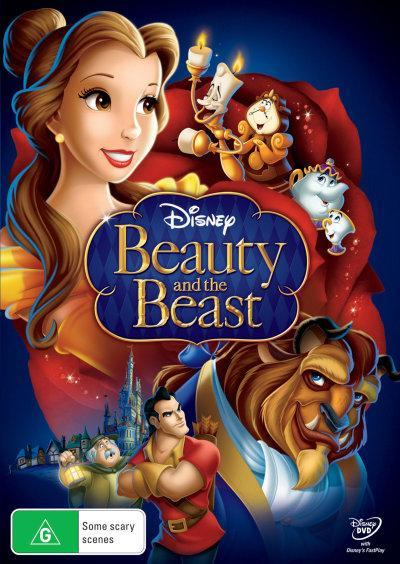 Beauty and the Beast on DVD image