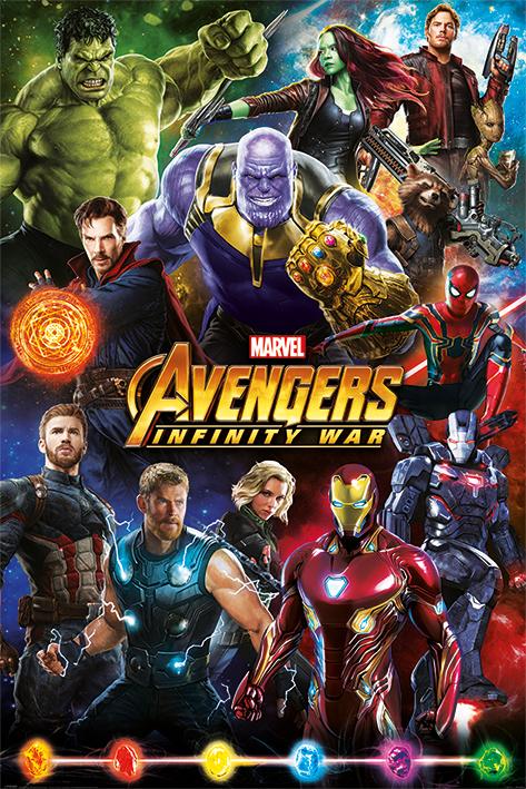 Avengers Maxi Poster - Infinity War (727)