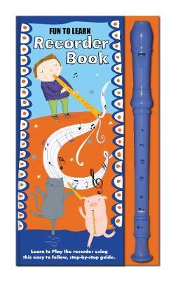 Fun to Learn Recorder and Book Orange and Blue