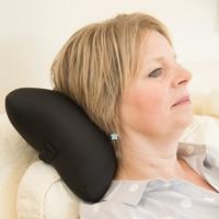 Massage Cushtie - Vibrating Travel Pillow (Black) image