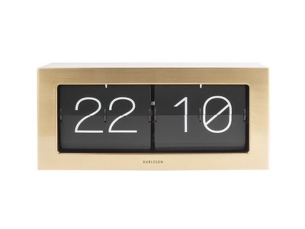 Karlsson Flip Clock Boxed | at Mighty Ape NZ