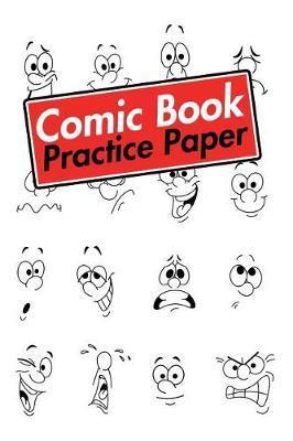 Comic Book Practice Paper by Notebooks Journals Xlpress image