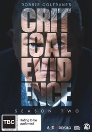 Robbie Coltrane's Critical Evidence - The Complete Second Season on DVD image