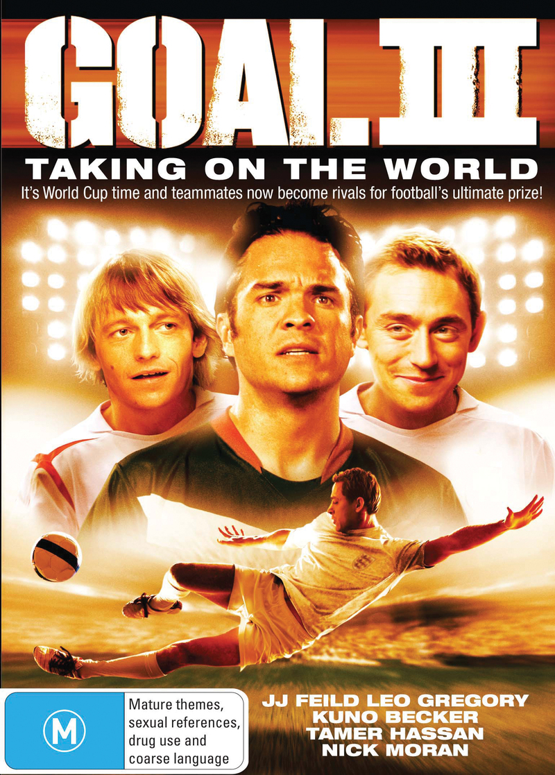 Goal 3: Taking on the World on DVD image