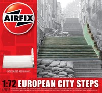 Airfix European City Steps 1/72 Model Kit