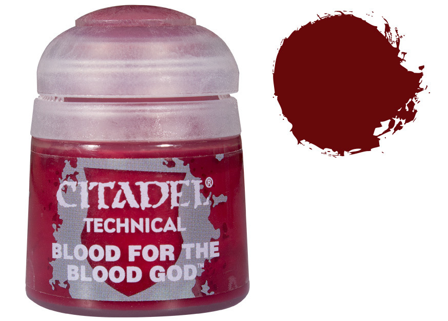 Citadel Technical Paint: Blood for the Blood God image