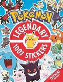 The Official Pokemon Legendary 1001 Stickers by Pokemon