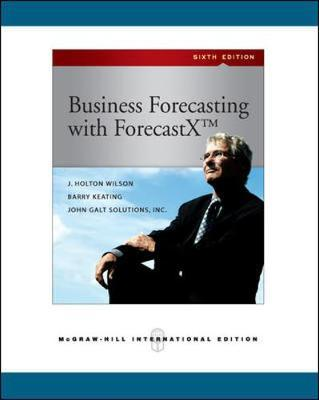 Business Forecasting by J.Holton Wilson