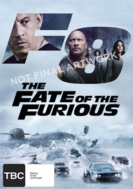 The Fate of the Furious DVD
