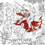 The Witcher Adult Coloring Book by Projekt Red