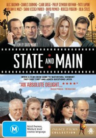 State & Main on DVD image