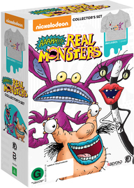 Aaahh!!! Real Monsters Collector's Set (includes t-shirt) on DVD