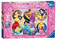 Ravensburger : Disney Princess 2 Puzzle 100pc