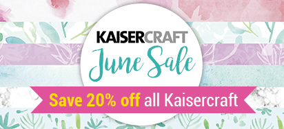 20% off Kaisercraft