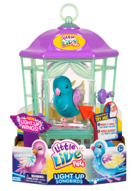 Little Live Pets: Light-Up Bird Cage - Skye Twinkles