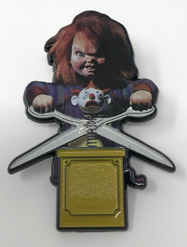 Child's Play: Large Pin Badge - Chucky