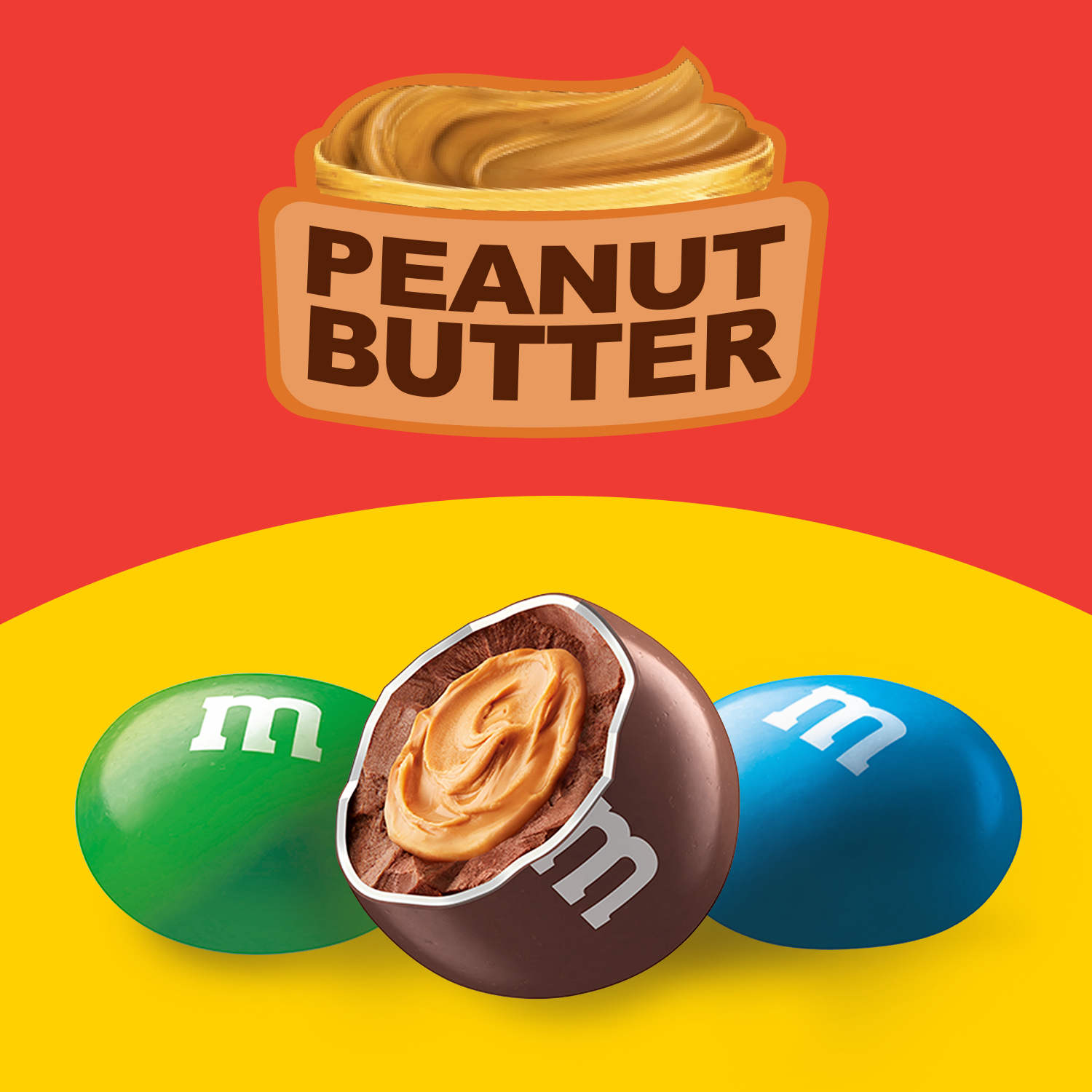 M&Ms Peanut Butter 963g image