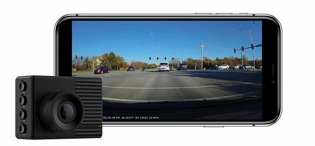 Garmin Dash Cam 56, Wide 140-Degree Field of View In 1440P HD