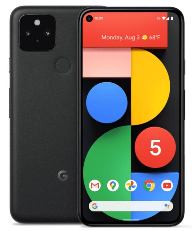 Google Pixel 5 5G (128GB/8GB RAM) - Just Black