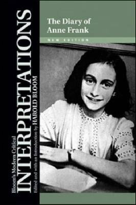The Diary of Anne Frank, New Edition by Professor Harold Bloom