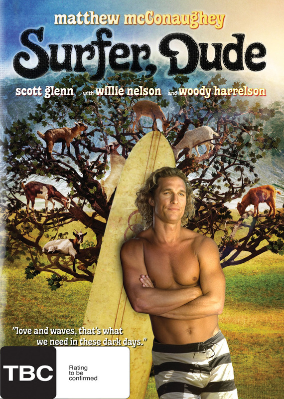 Surfer Dude on DVD