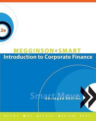 Introduction to Corporate Finance by Scott B Smart