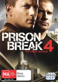 Prison Break 4 - The Final Season on DVD
