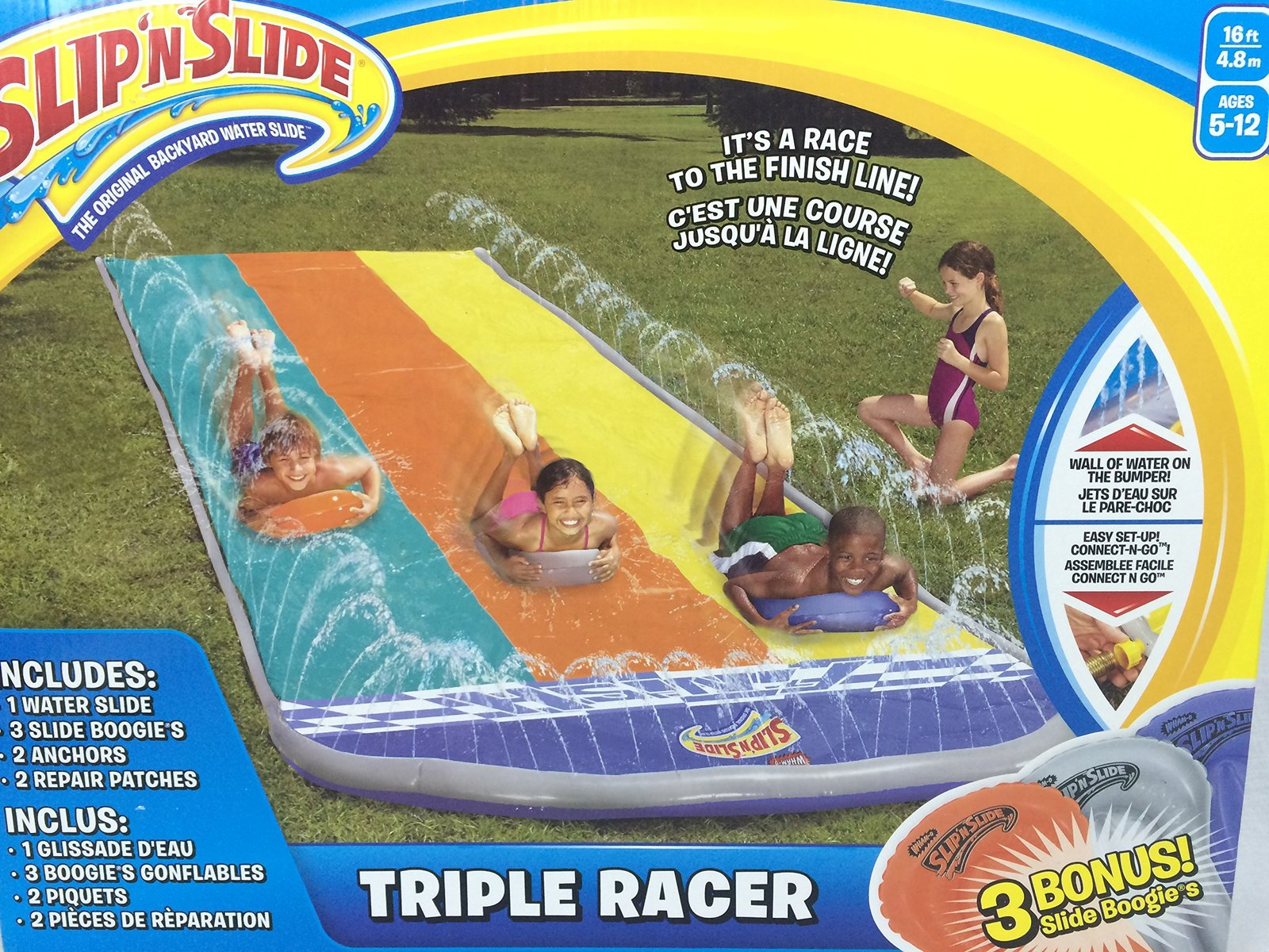 Slip 'n Slide - Triple Racer with Boogies image