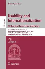 Usability and Internationalization. Global and Local User Interfaces