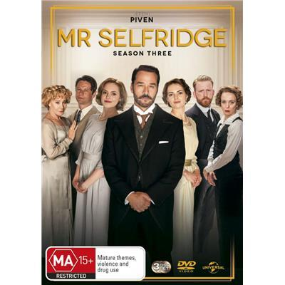 Mr Selfridge - Season Three on DVD